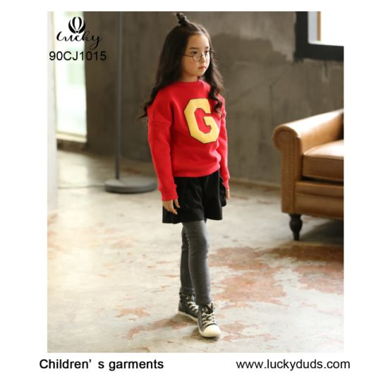 6c6d0a864463 China Popular Dress Ruffle Pants for Little Girls Outfits for Fall ...