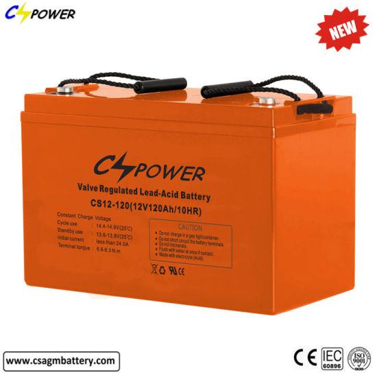 Rechargeable VRLA AGM 12V120ah Lead Acid Battery for UPS Backup