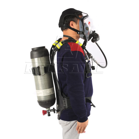 Ce Approved Firefighting Equipment Breathing Apparatus Set Scba pictures & photos