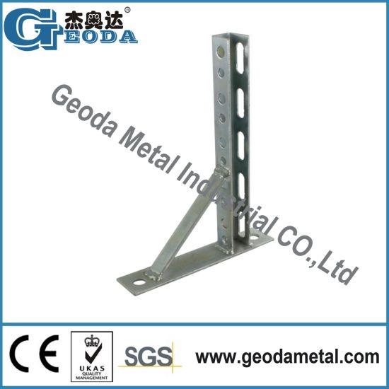 China Metal Framing Strut Channel Base Mount Bracket China Strut