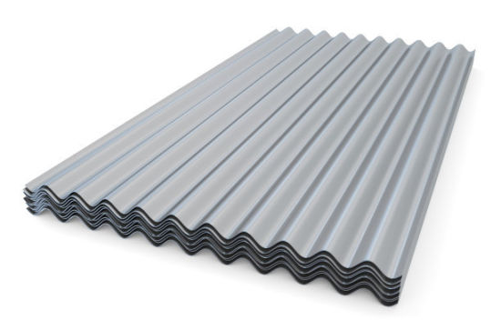 Building Material Zinc Coated Corrugated Steel Roofing Sheet