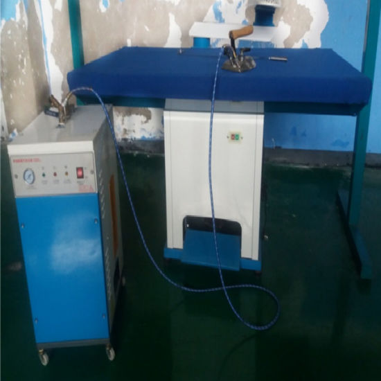 Finish Self Air Suction Vacuum Ironing Table with Boiler (XTT-A)
