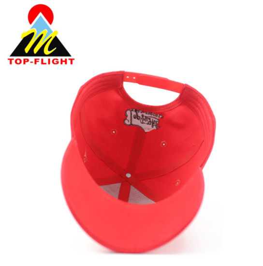 Wholesale Custom Embroidery Red Sports Cotton Hats and Caps Baseball Cap pictures & photos