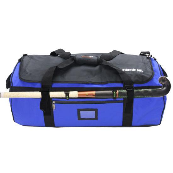 Waterproof Field or Ice Hockey Lacrosse Stick Duffel Bag