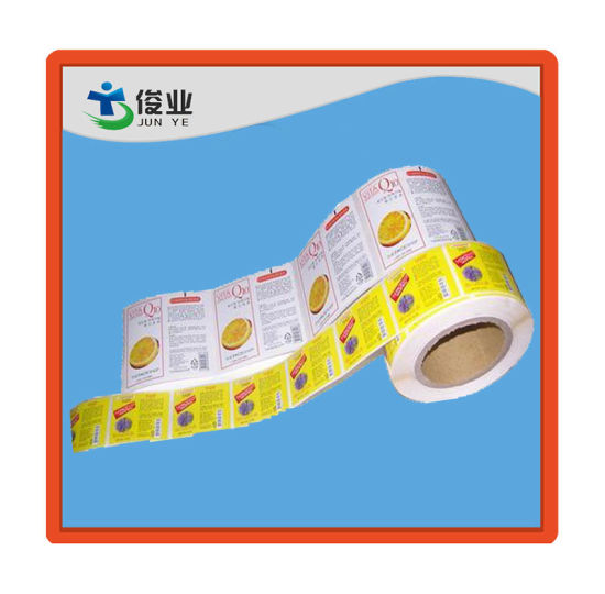 Adhesive Sticker/Logo Customized Label in Roll