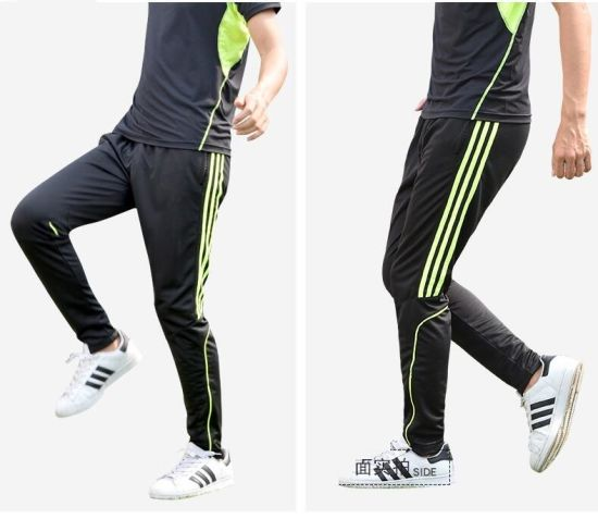 hot-selling genuine limpid in sight official Wholesale / Retail with Zipper Bottom Mens Joggers Outdoors Training  Tracksuits Trousers