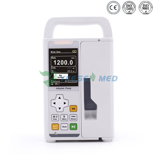 Hospital Yssy-1200y Medical Portable Infusion Pump Veterinary pictures & photos