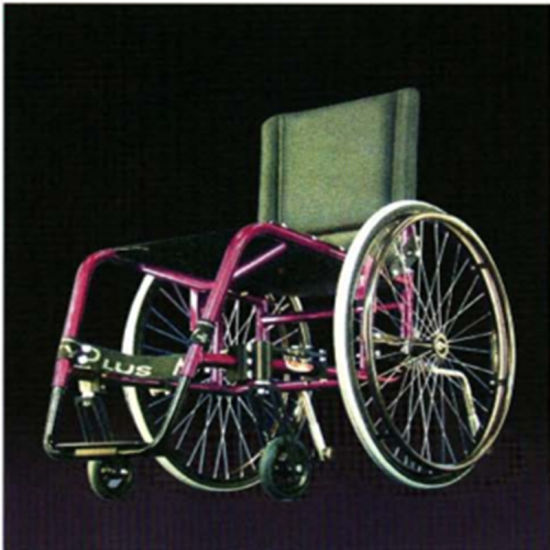 Handicapped Wheel Chair Foldable Power Wheelchair with Motor Controller