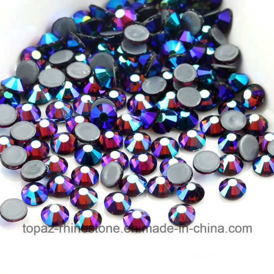 Copy Sw Ss6 Ss8 Ss10 Hot Fix Rhinestones Glass Crystal for Wedding Dress