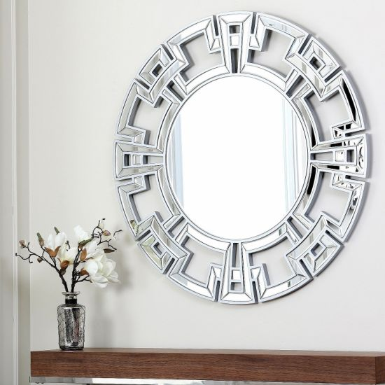 Home Decor And Accents Round Wall Mirror Pictures Photos