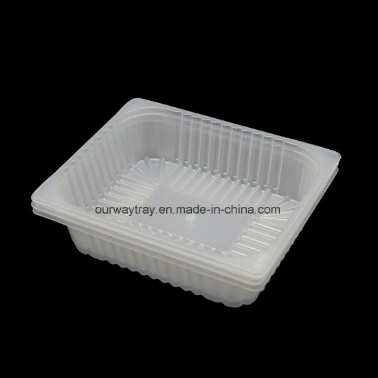 Top Sale Biodegradable Packaging Food Plastic Serving Blister Tray pictures & photos