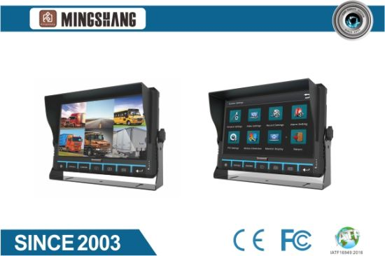 9inch 6CH 1080P HD Mobile DVR for Bus, Truck, Car, Vehicle, Taxi