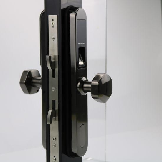 China Aluminum Electronic Sliding Door Lock Keyless