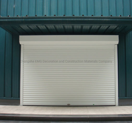 Aluminum Roller Shutter Door /Automatic Rolling Shutter Door