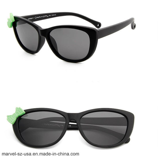 Cat Eye Cute Cool Baby Tr90 Frame Children Sunglasses Kids Sunglasses pictures & photos