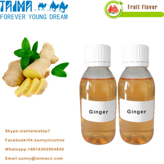 Wholesale Electronic Liquid Concentrate Ginger Flavor E-Juice pictures & photos