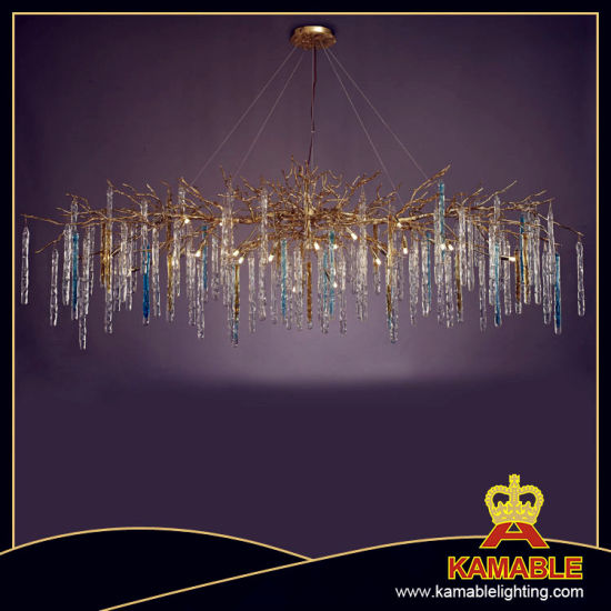 Customized Project Hotel Decorative Glass Pendant Light (KA173282)