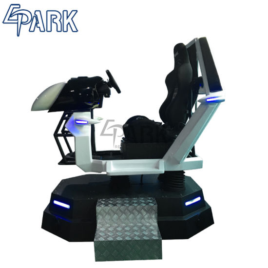 Virtual Reality Simulator Dynamic Platform Car Racing Simulator Vr Racing  Ride Car