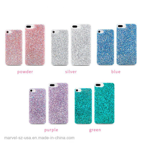 Luxury Shinning Glitter Cover Phone Case pictures & photos