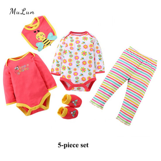 New Summer Fashion Girls Clothing Sets Baby Clothes