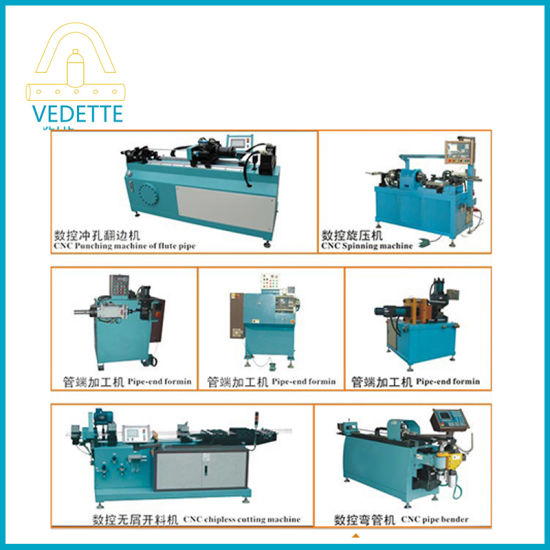 CNC Hydraulic Copper Pipe Steel Pipe Making Machine for Air Conditioner and Solar Heater
