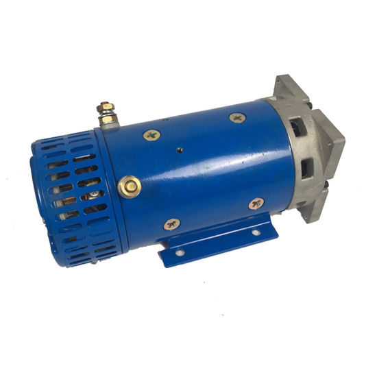 24V High Power Hydraulic Brushed DC Motor for Garbage Truck