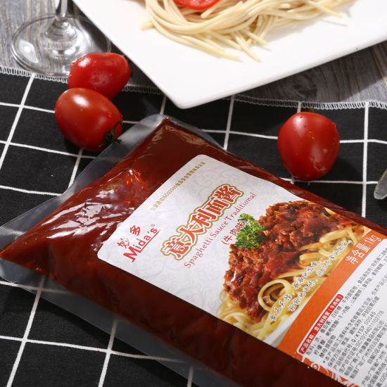 1kg Bagged Pasta Sauce Beef Flavored Paste Condiment Spaghetti Sauce pictures & photos