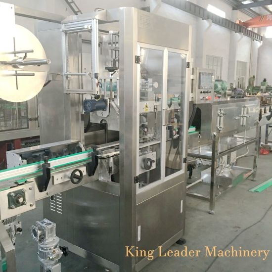 PVC Pet Bottle Automatic Shrink Sleeve Label Wrapping Labeling Machine