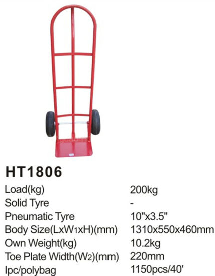Ht1806 Good Quality Hand Truck/Hand Trolley pictures & photos
