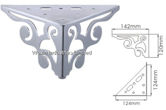 Chrome Feet Chrome Furniture Legs For Sofas, Beds, Chairs, Stools (001)