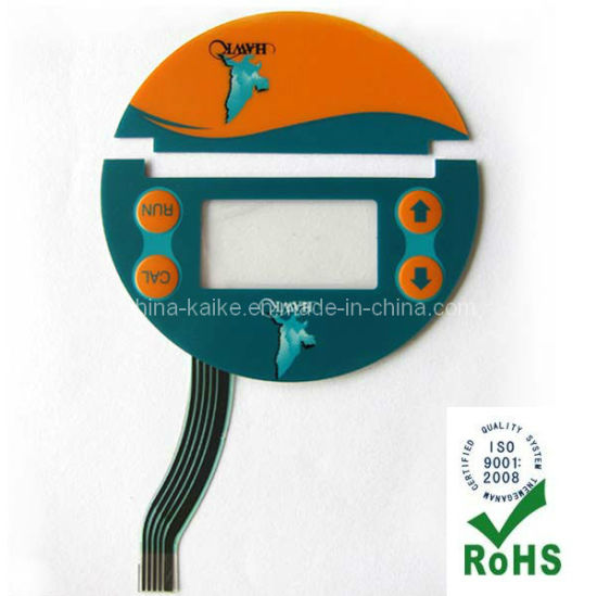 Membrane Switch with Window and Key Embossed (KK)