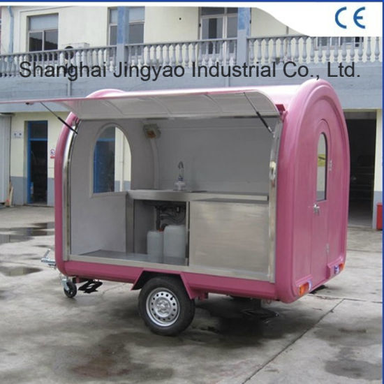 Mobile Coffee Carts Juice Candy Food Truck Business Street Vending Cart