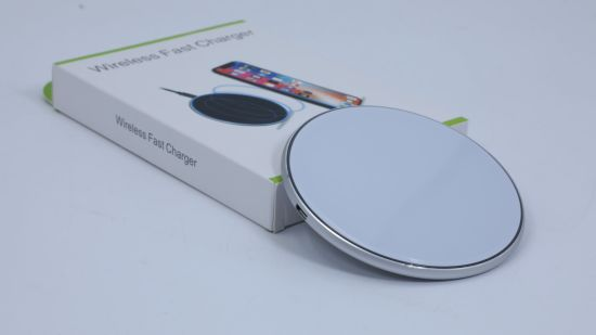 Hot Sales Mobile Cell Phone Qi Wireless Charger with USB Fast Charging Station 10W 15W