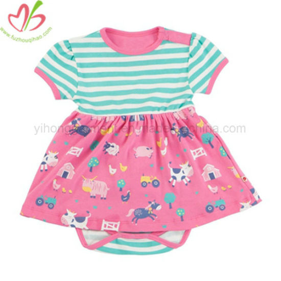 New Design Baby Girl Romper Style Dress pictures & photos