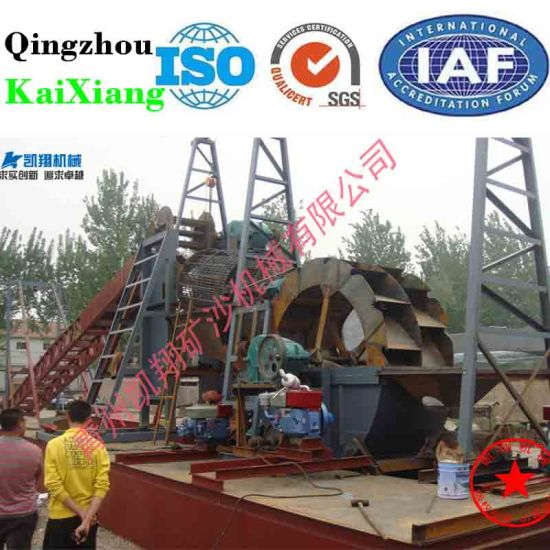 Factory Price River Dredger, Sand Dredger, Gold Dredger pictures & photos