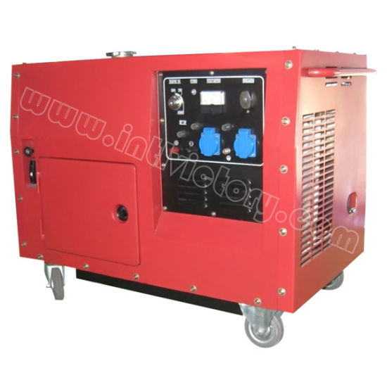 6kw Portable Gasoline Silent Generator for Home Standby with Ce/CIQ/ISO/Soncap pictures & photos