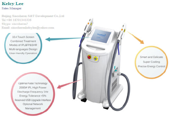 Multifunctional Shr Opt IPL/IPL Laser/IPL Hair Removal pictures & photos