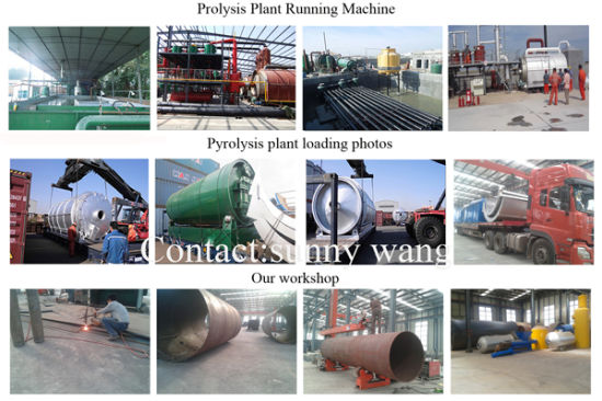Fuel Saving Type Crude Oil Refinery Pyrolyis Gasify Machine pictures & photos