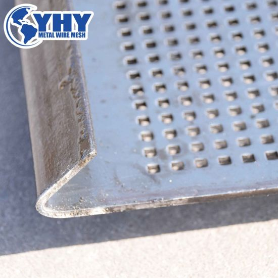 Heavy Weight Perforated Punched Sieve Filter Sift Stones Screen Mesh