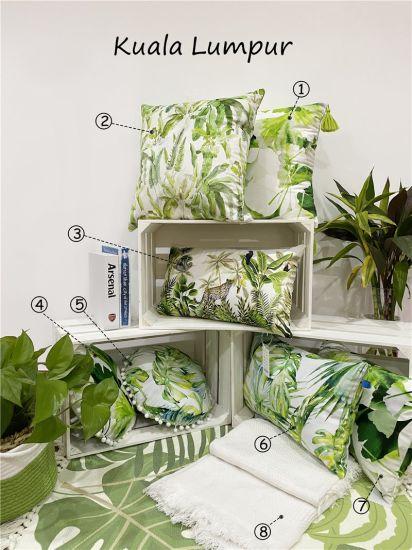 Leaf Velvet Cushion / Print Cushion