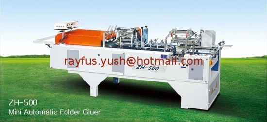 Automatic Shoe Box Folder Gluer Machine or T-Shirt Box pictures & photos