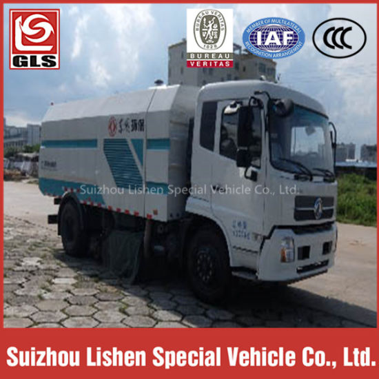 GLS 2 Axle Road Cleaning Sweep Truck for pictures & photos