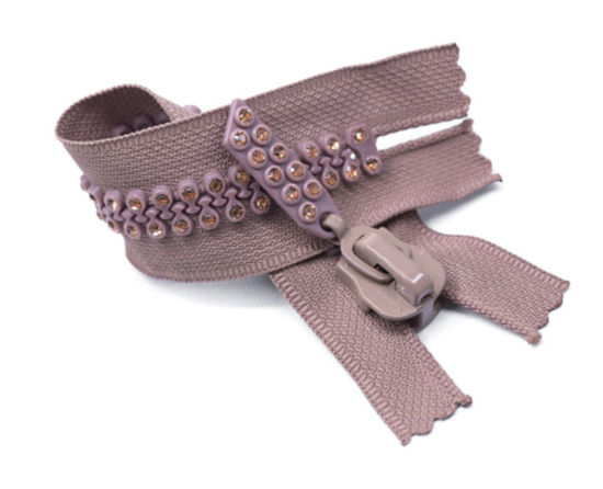 resin Zipper/Diamond Zipper/Top Fashion/High Quality