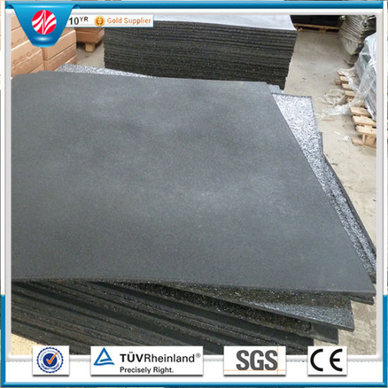 China Fitness Gym Rubber Flooring Tileplayground Rubber Tiles