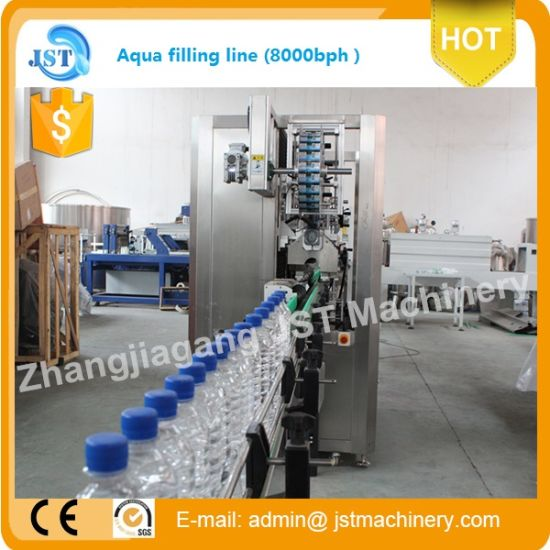 6000bph Automatic Pure Water Filling Machine pictures & photos
