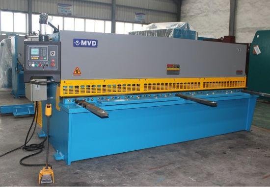 Manufacturer Mvd QC12y-6X6000 Hydraulic Swing Beam Shear