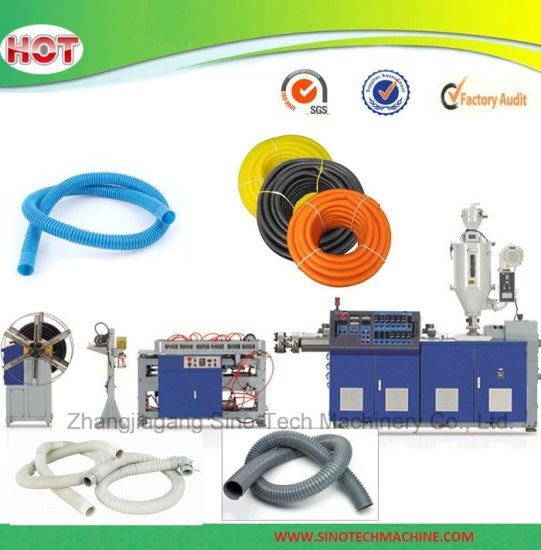 2017 New Design HDPE LDPE Plastic Pipe Production Line pictures & photos