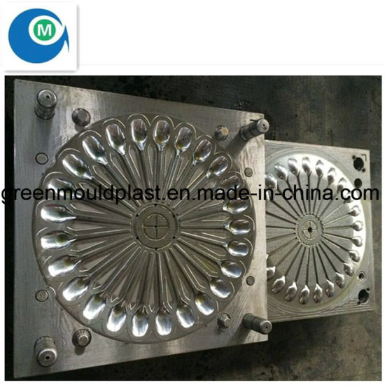 Disposable Plastic Injection Soup Spoon Mould pictures & photos