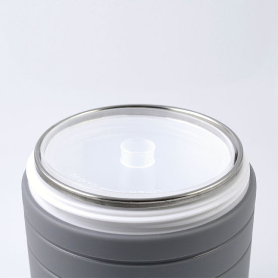 Popular Plastic Outer Stainless Steel Inner Container Lunch Box Food pictures & photos