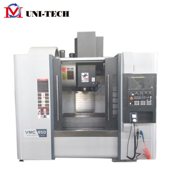 Vmc850 China High-Speed Precision CNC Vertical Machine Center with 24tools